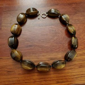 Banana Republic Large Beaded Necklace